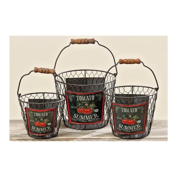 Sada 3 košíků Tomato