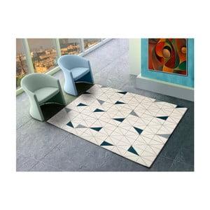 Bílý koberec vhodný i na ven Universal Shuffle, 200 x 290 cm