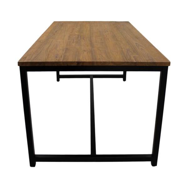 Jídelní stůl z teakového dřeva a kovu HSM collection, 250 x 100 cm