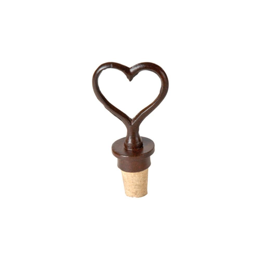 Zátka na víno Antic Line Heart