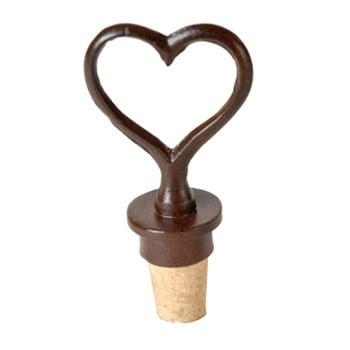 Dop sticlă de vin Antic Line Heart imagine