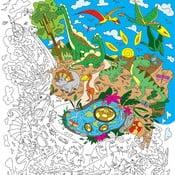 Omalovánky Creative Gifts Dinoland