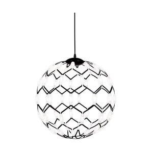 Černé závěsné svítidlo GlobenLighting Illuminati, ø50cm