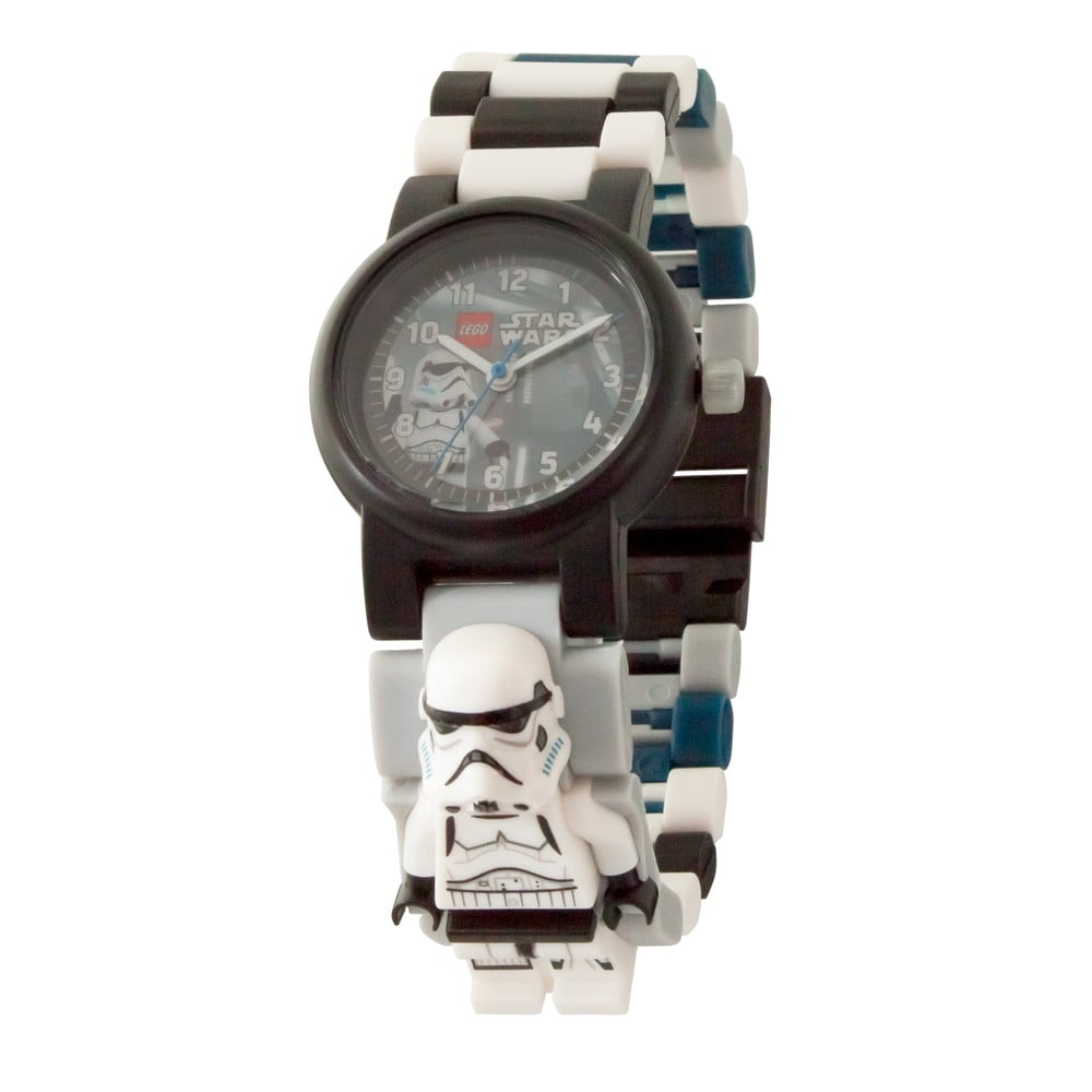 Černobílé hodinky LEGO® Star Wars Stormtrooper
