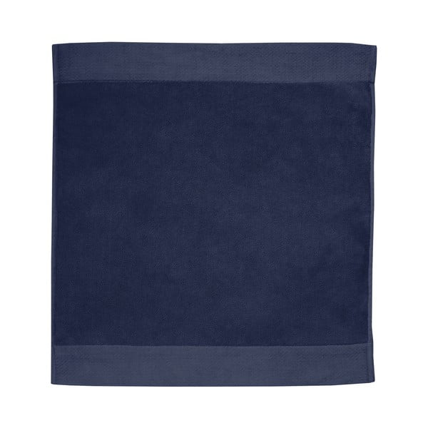Tmavě modrá koupelnová předložka Seahorse Pure, 50x60cm