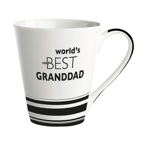 Porcelánový hrnek KJ Collection World's Best Granddad, 300 ml