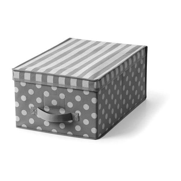 Šedý úložný box Cosatto Trend,30x45cm