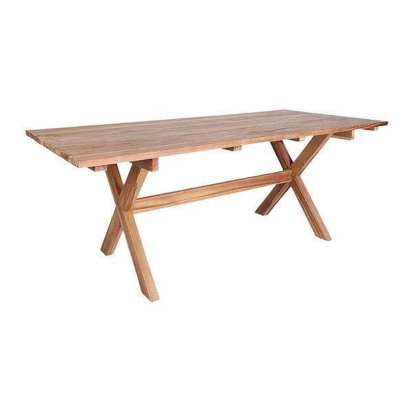 Venkovní jídelní stůl z recyklovaného teakového dřeva House Nordic Murcia, délka 200 cm