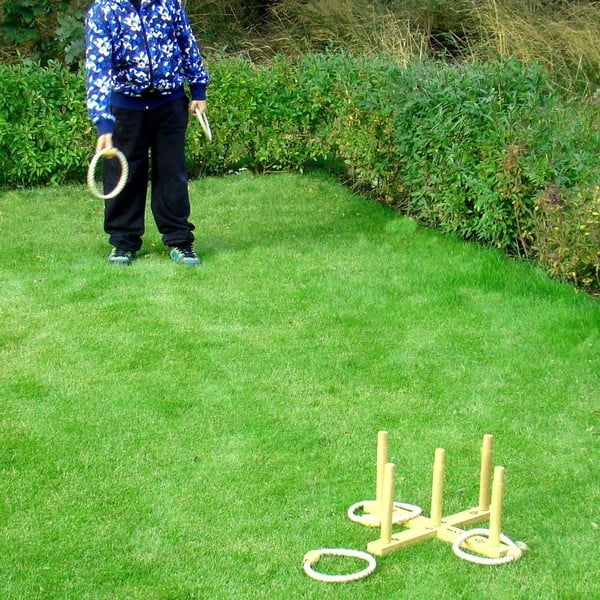 Zahradní hra pro celou rodinu Ring Toss