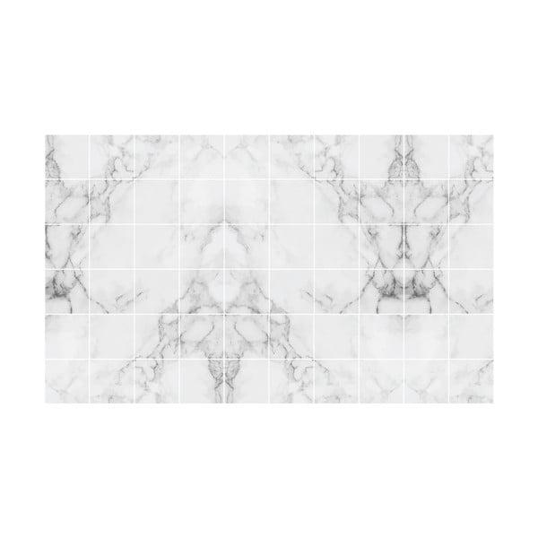 Sada 60 samolepek na zeď Ambiance Marble Dream, 20x20cm