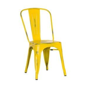 Židle Antique Terek Vintage Yellow