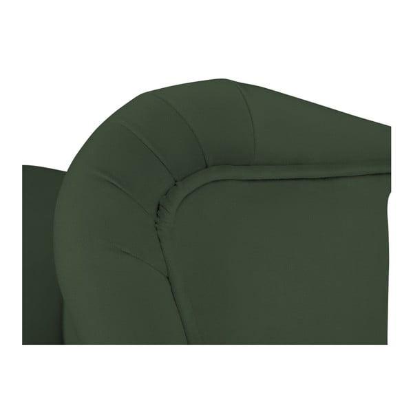 Zelená barová židle Mazzini Sofas Roco
