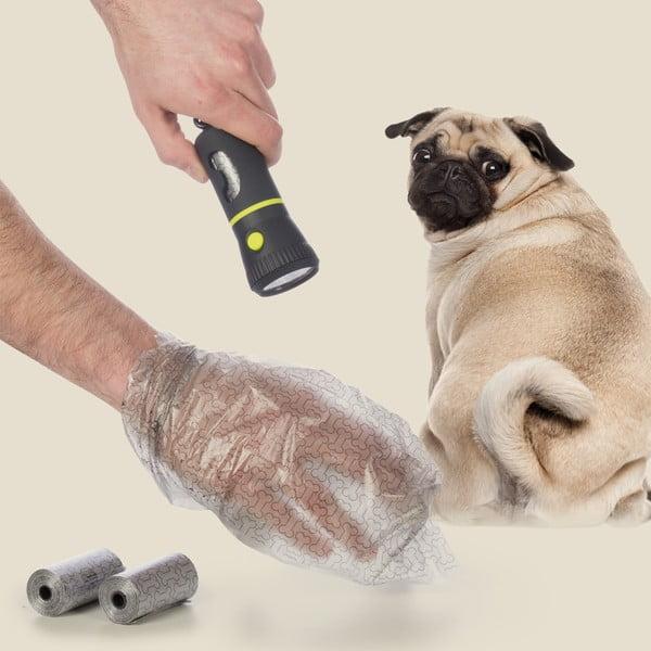 Elemlámpa/ kutyapiszok zacskó tartó - InnovaGoods