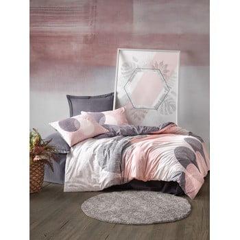 Lenjerie de pat din bumbac Cotton Box Leron, 200 x 200 cm