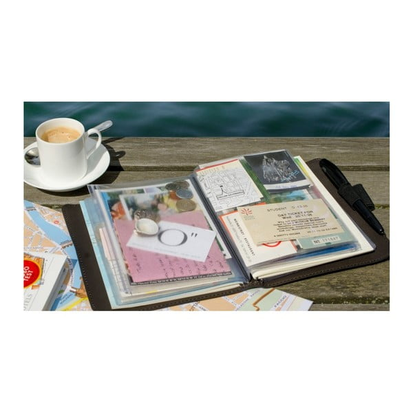 Cestovatelský deník na zážitky a suvenýry Remember Trip Book Marlene