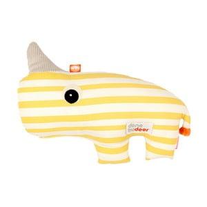 Žlutá hračka Done by Deer Nozo