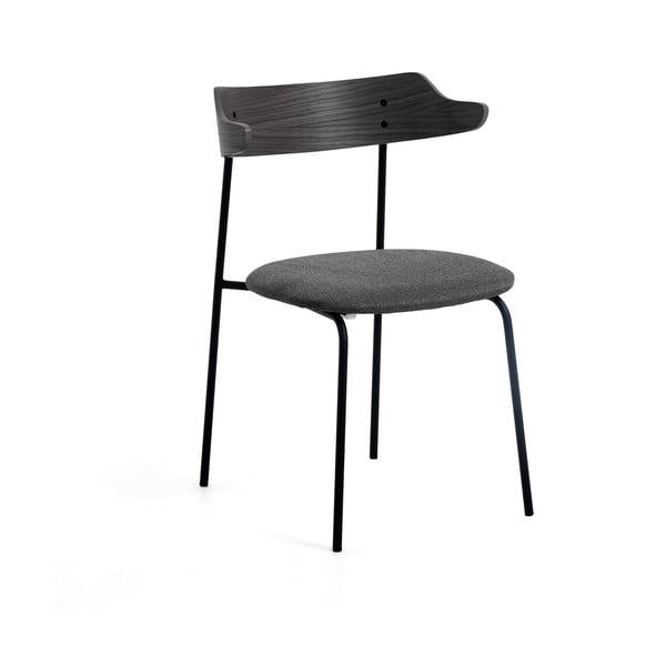 Tmavě šedá jídelní židle La Forma Olympia