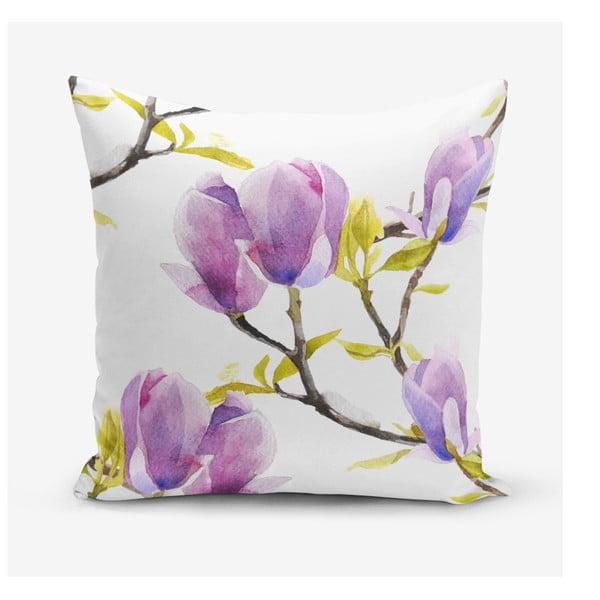 Povlak na polštář s příměsí bavlny Minimalist Cushion Covers Gardenia, 45 x 45 cm