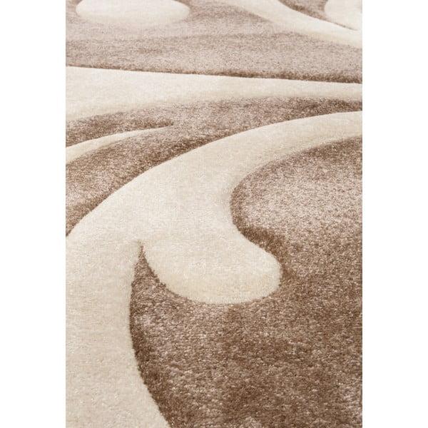 Krémový koberec Tomasucci Damasko, 140x190cm