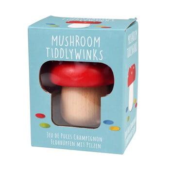 Jucărie din lemn în formă de ciupercă Rex London Mushroom TiddlyWinks