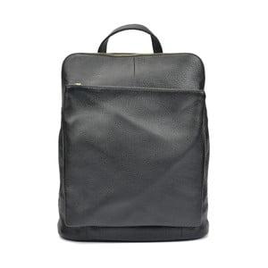 Černý dámský kožený batoh Isabella Rhea Gunna Nero