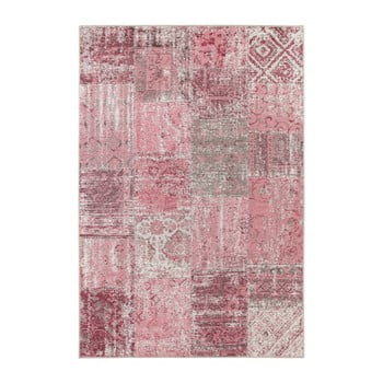 Covor Elle Decor Pleasure Denain, 80 x 150 cm, roz
