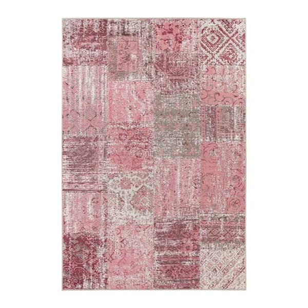 Růžový koberec Elle Decor Pleasure Denain, 120 x 170 cm