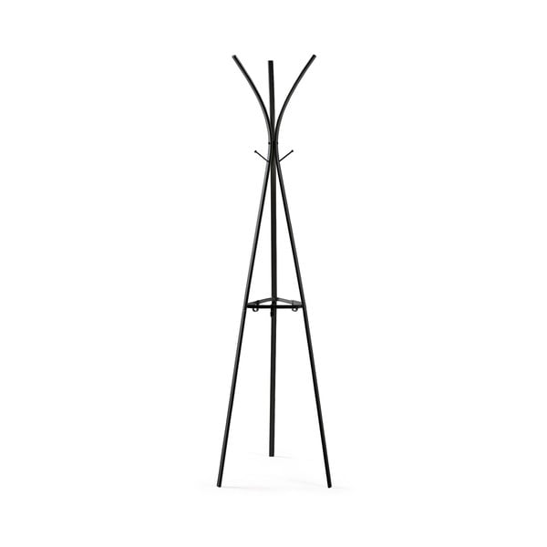 Černý věšák La Forma Stearn, výška 42 cm