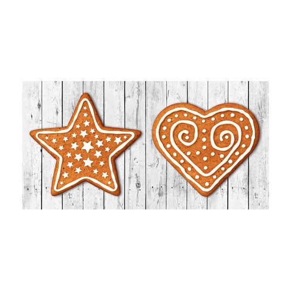 Traversă de masă Crido Consulting Gingerbread Hearth, lungime 100 cm
