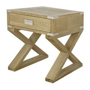 Příruční stolek z dubového dřeva Artelore Anne