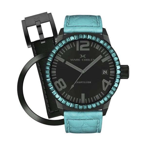 Dámské hodinky Marc Coblen s páskem a kroužkem navíc P43