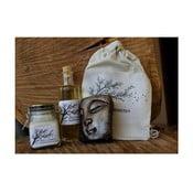 Dárková sada mýdlo, mandlový olej a krém, mandle