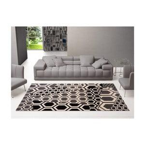 Šedý vzorovaný koberec DECO CARPET Bee, 200 x 300 cm