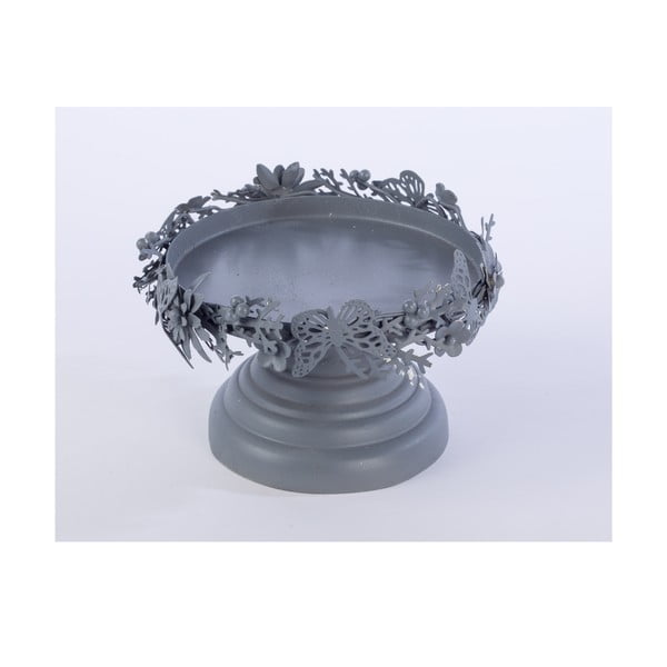Kovový stojan Pillar, šedý