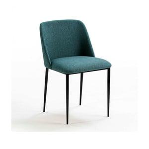 Modrá polstrovaná židle Thai Natura