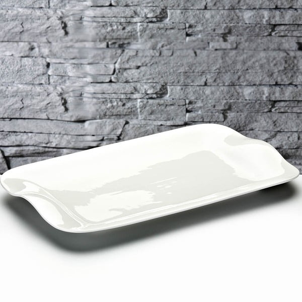 Servírovací tác Luxury Porcelain, 35x22 cm