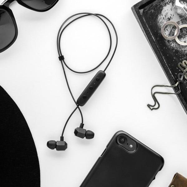 Husă protecție telefon pentru iPhone 7 și 8 Plus Happy Plugs Slim, negru