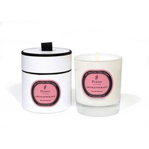 Svíčka s vůní růže a pačuli Parks Candles London  Aromatherapy, 45 hodin hoření