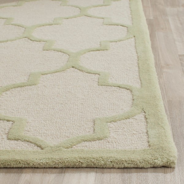 Vlněný koberec Everly Cream, 121x182 cm