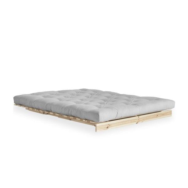 Canapea extensibilă Karup Design Roots Raw/Light Grey