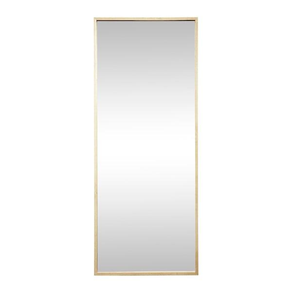 Zrcadlo s rámem z dubového dřeva Hübsch Oak, 70 x 180 cm