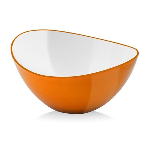 Oranžová salátová mísa Vialli Design, 25cm