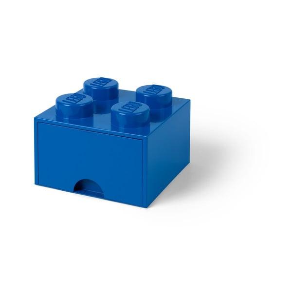 Niebieski pojemnik z szufladą LEGO®