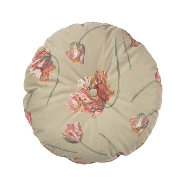 Béžový polštář BePureHome Vogue, ø 45 cm