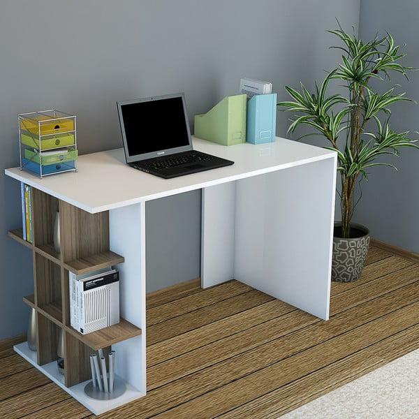 Pracovní stůl Minar Plus Walnut
