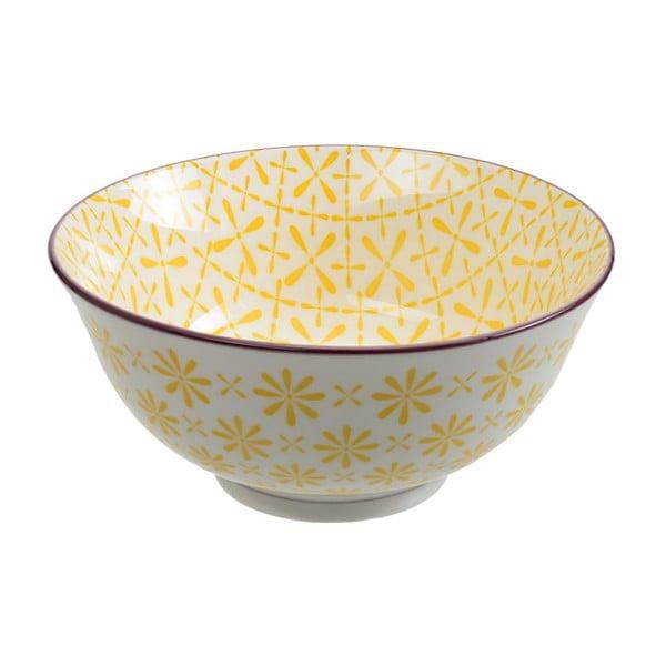 Porcelánová miska Tayo Yellow, 15,5x7 cm