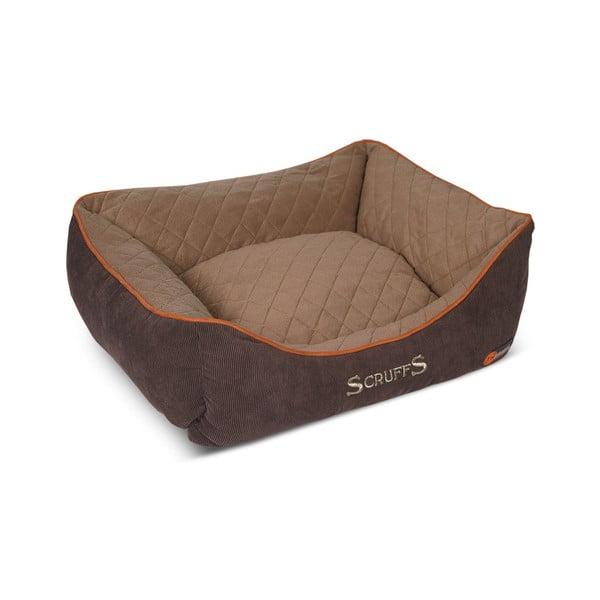 Psí pelíšek Thermal Bed 50x40 cm, hnědý
