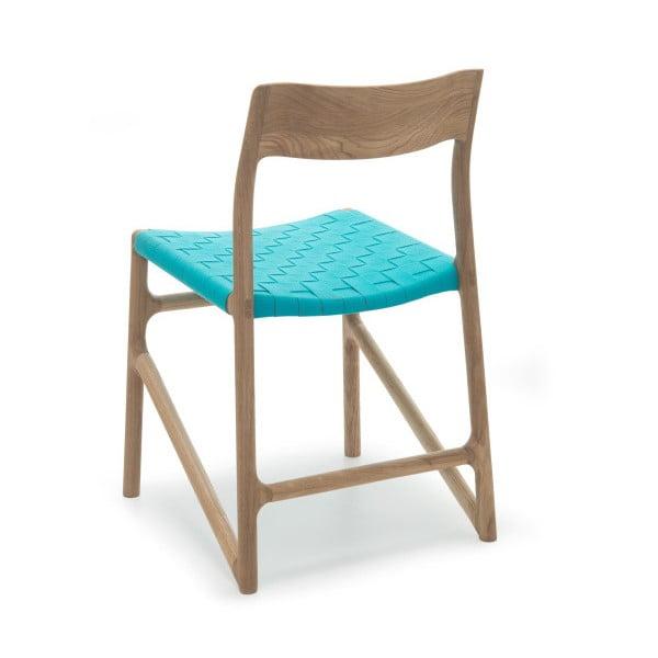 Židle Fawn White Pigment Gazzda, modrá