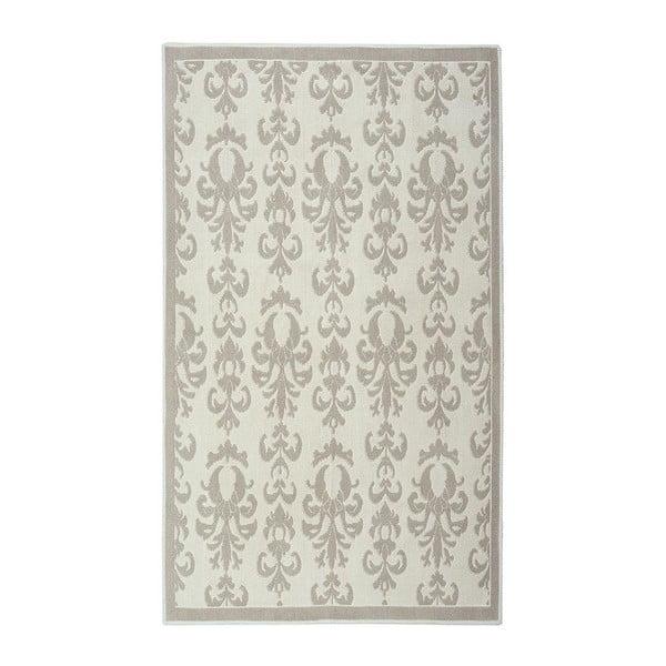 Krémově bílý bavlněný koberec Baroco 80x300 cm