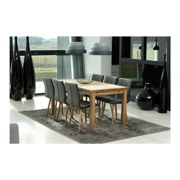Sada 2 jídelních židlí Frida, šedá